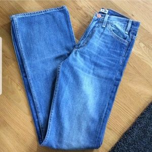 Acne wide leg jeans